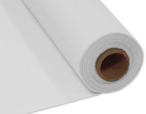 White Plastic Table Roll - 30.5m x 1m
