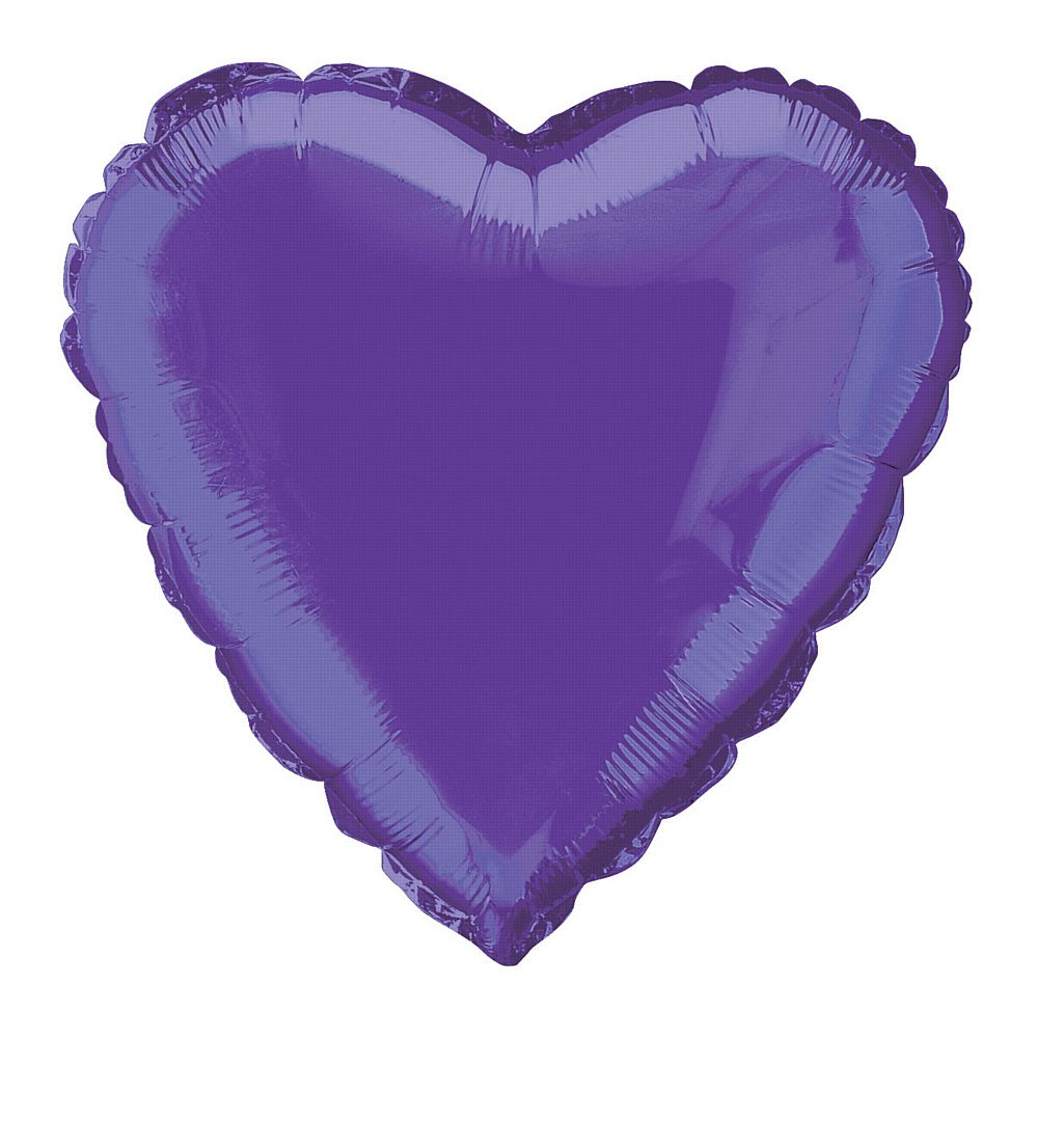 Purple Heart Foil Balloon 18""