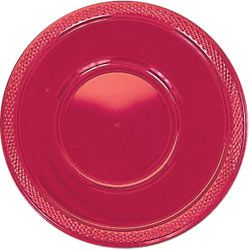 Red Plastic Bowls 355ml - Pack of 20