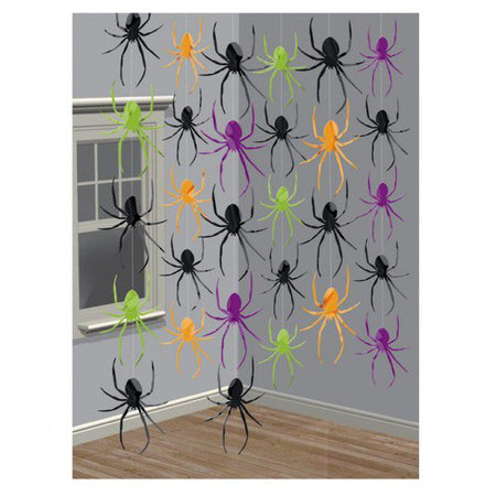 12.6M Spider String Decoration