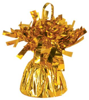 Gold Foil Balloon Weight