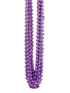 Purple Party Beads - Pack of 12