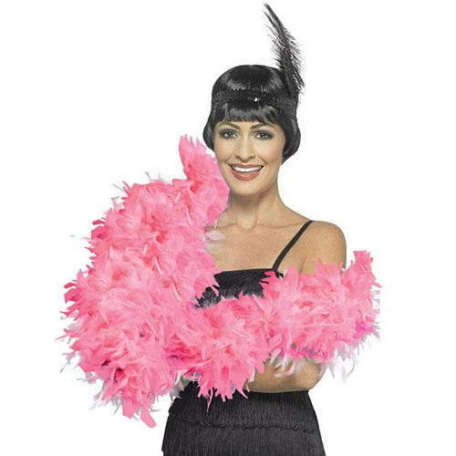 Bright Pink Feather Boa