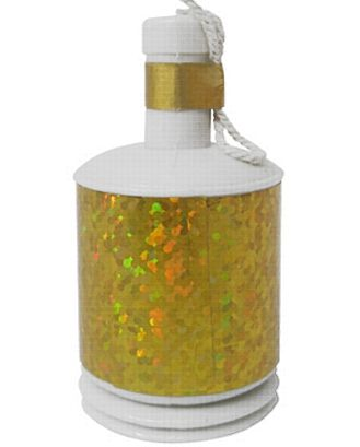 Gold Metallic Party Poppers - Pack of 20