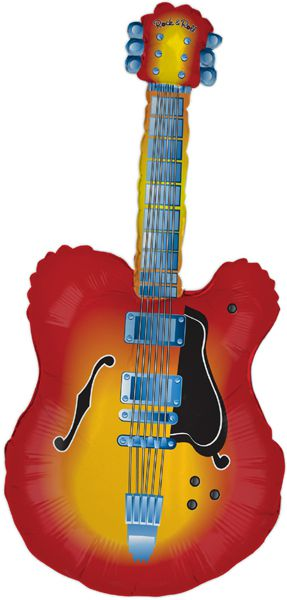 Click to view product details and reviews for Electric Guitar Foil Balloon 43.