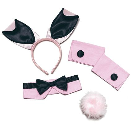 Bunny Girl Set - Instanr - Pink and Black