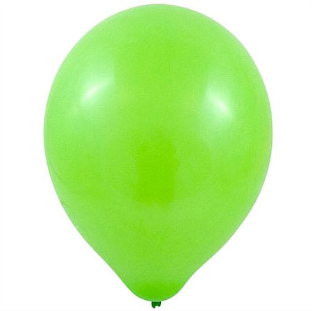 Lime Green Latex Balloons - 10