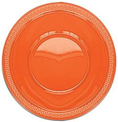 Orange Plastic Bowl - Pack of 20 - 355ml