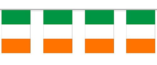 Irish Cloth Flag Bunting 6m