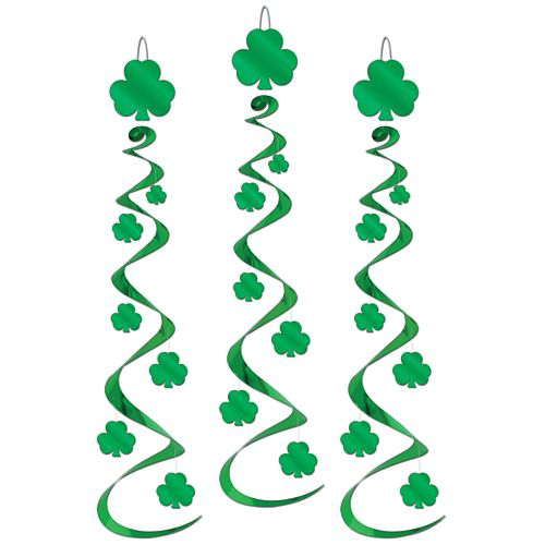 Shamrock Whirls 76cm - Pack of 3
