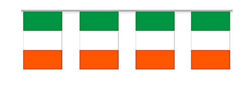 Irish Flag PVC Bunting - 7m