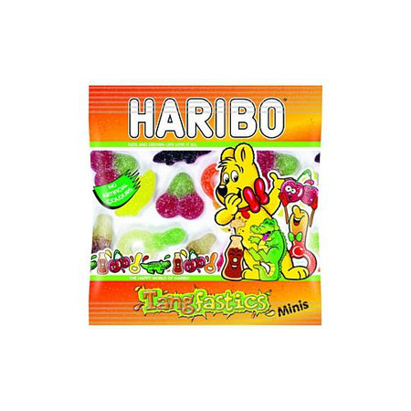 Haribo Tangfastic Gummy Sweets - 16g Mini Bag - Each