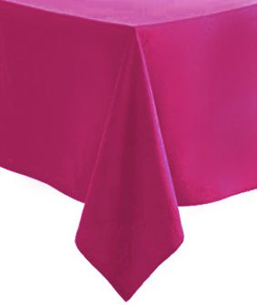 Hot Pink Paper Paper Tablecloth 1.4m x 2.8m