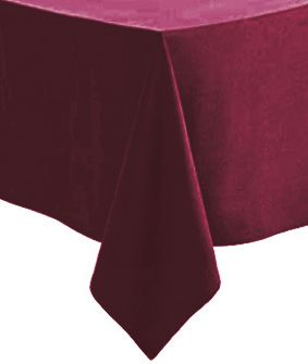 Burgundy Paper Tablecloth 1.4m x 2.8m