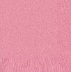 Pink Dinner Napkins 40cm - Pack of 50
