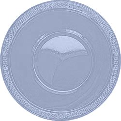 Light Blue Plastic Bowl - Pack of 20 - 355ml
