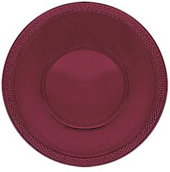 Burgundy Plastic Bowl 355ml - Pack of 20