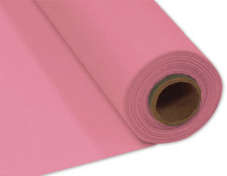 Pink Plastic Table Roll - 30.5m x 1m