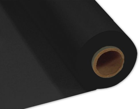 Black Plastic Table Roll - 30.5m x 1m