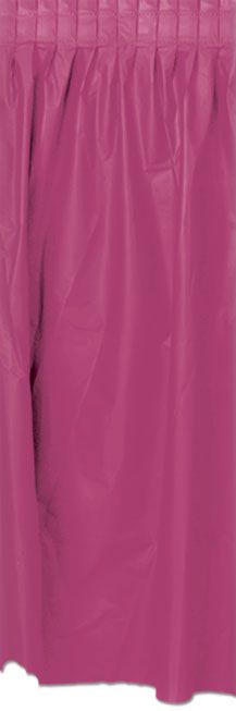 Click to view product details and reviews for Burgundy Solid Colour Table Skirting 70cm X 42m.