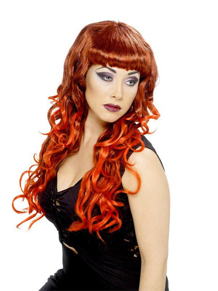Siren Wig - Red and black