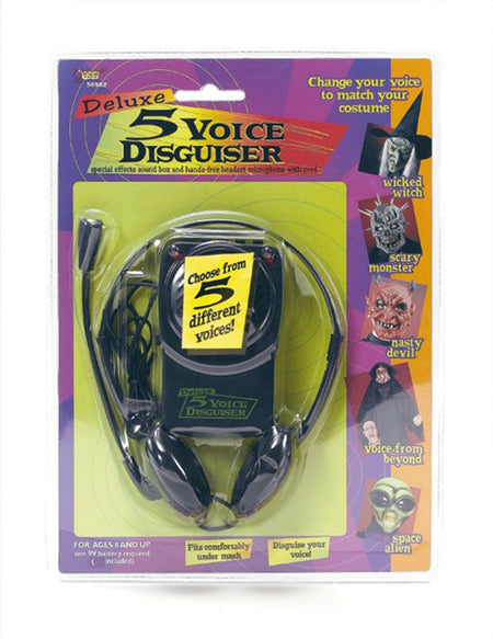 Voice Changer and Headset