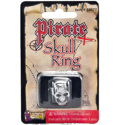 Click to view product details and reviews for Pirate Skull Ring.
