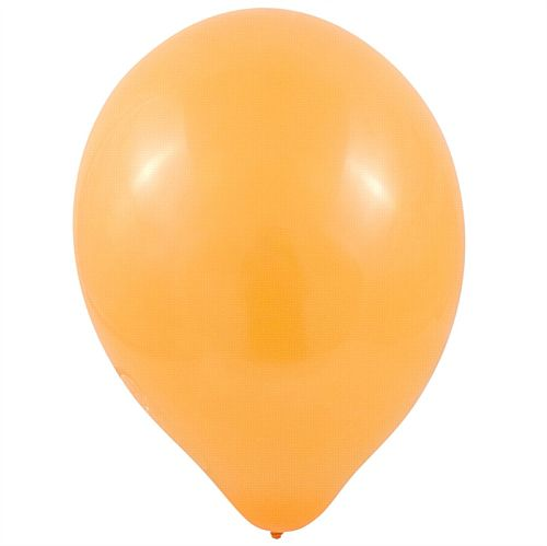 "Orange Latex Balloons - 10"" - Pack of 100"