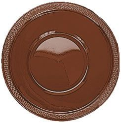 Chocolate Colour Plastic Bowl 355ml - Pack of 20