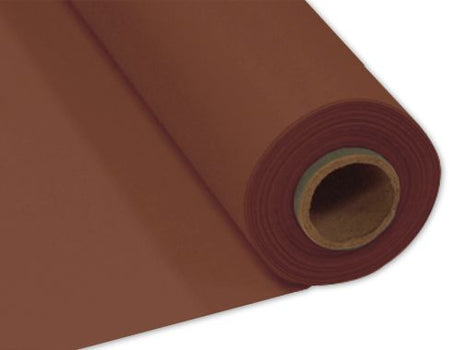 Chocolate Plastic Banqueting Roll - 30.5m x 1m