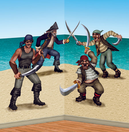 Duelling Pirate Bandit Props