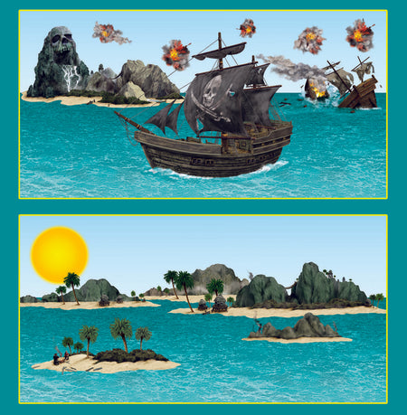 Click to view product details and reviews for Pirate Ship Island Props.
