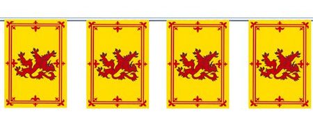 Rampant Lion Cloth Flag Bunting 3m