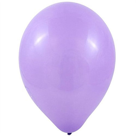 Lavender Latex Balloons 10 Pack Of 100