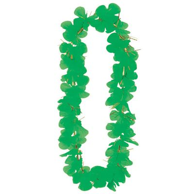 Shamrock Party Lei 36ins