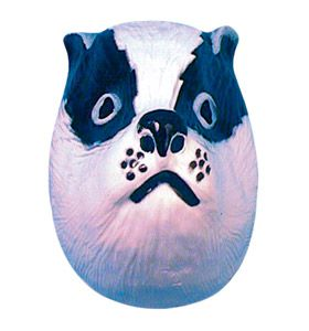 Children's Plastic Badger Mask