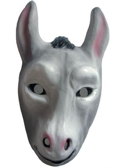 Children's Plastic Donkey Mask