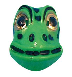 Children's Plastic Frog Mask