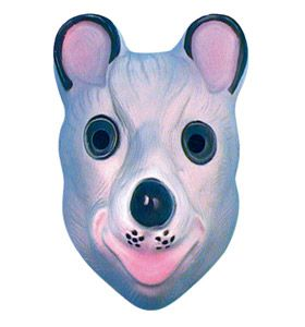 Children's Plastic Mouse Mask