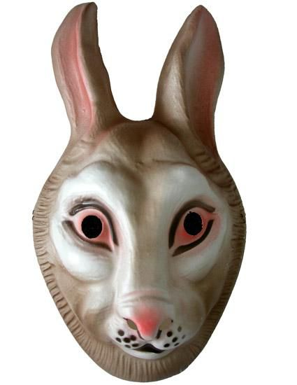 Rabbit Mask - Plastic - Child's