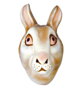 Rabbit Mask - Adult