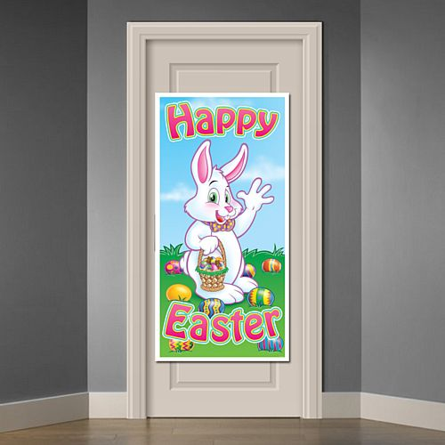 Easter Bunny Door Cover - 1.52m