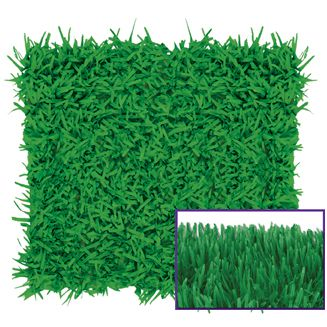Green Fringed Tissue Square - 76cm