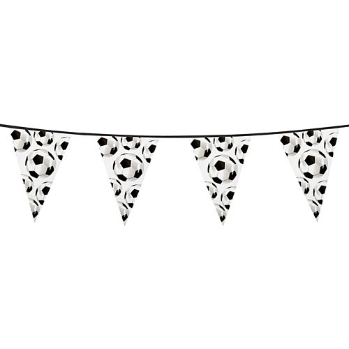 Football Plastic Bunting - 6m