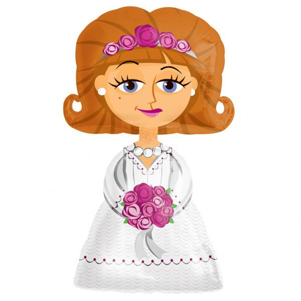 Bride AirWalker Foil Balloon - 50""