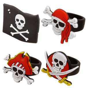 Pirate Ring - Assorted Designs - Each