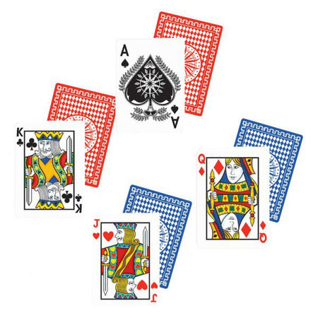 Casino Playing Card Cutouts - Pack of 4 - 45.7cm