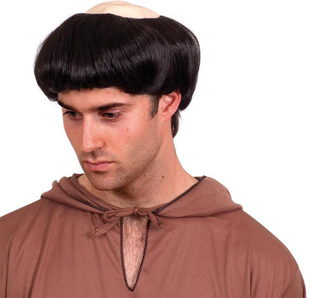 Click to view product details and reviews for Realistic Monk Wig.