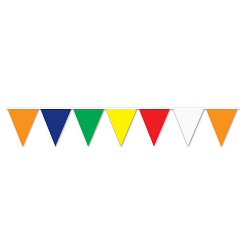 Multicoloured Outdoor Bunting - 36m
