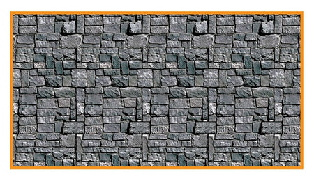 Stone Wall Back Drop - 30'